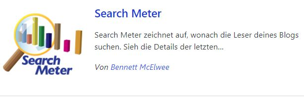 Search Meter